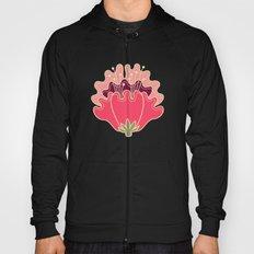 flat flowers - pattern Hoody
