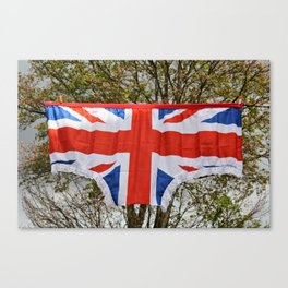British Bloomers!! Canvas Print