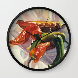 Red Hots Wall Clock