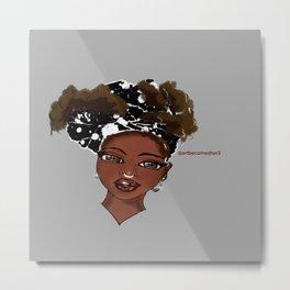Afrique Chique Metal Print