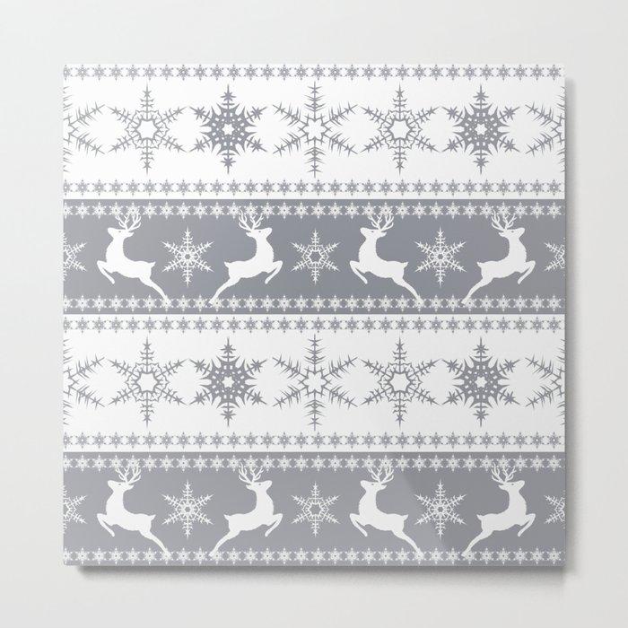 Christmas pattern . Metal Print