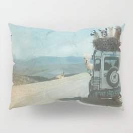 NEVER STOP EXPLORING II SUMMER EDITION Pillow Sham
