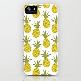It's raining pineapples iPhone Case