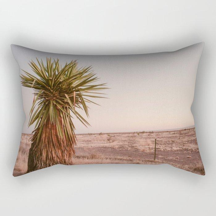 High Desert Sunset Rectangular Pillow