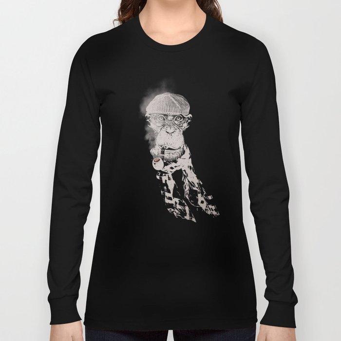 The Coffee Shop Philosopher  Long Sleeve T-shirt