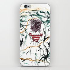 Chick With The Purple Hair iPhone & iPod Skin