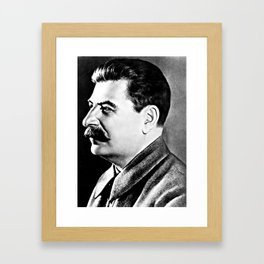 Joseph Stalin, Secretary-general of the Communist party of Soviet Russia (1942) Framed Art Print