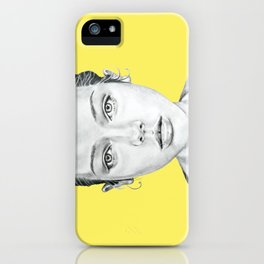 Lady Portrait iPhone Case