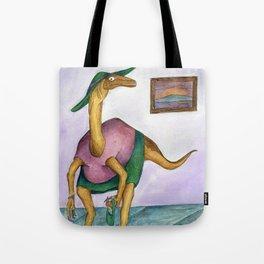 Dressy Dinosaur - Shirley Tote Bag