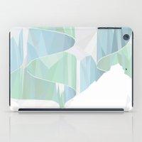 aurora iPad Cases featuring aurora by Marta Olga Klara