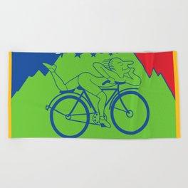 LSD 1943 - Hoffman Trip Beach Towel
