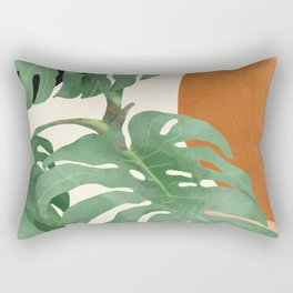 Tropical Leaves- Abstract Art  Rectangular Pillow