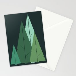 Cypress greens Stationery Cards