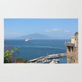 Mount Vesuvius from Sorrento Rug