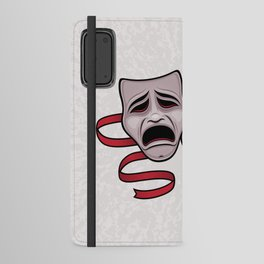 Comedy And Tragedy Theater Masks Android Wallet Case
