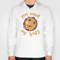 cookie Hoodies featuring Kinky Cookie by Artistic Dyslexia