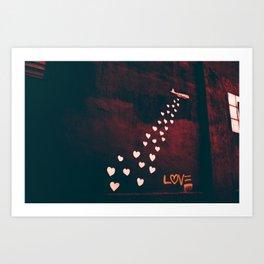 Love in Willamsburg // NYC Art Print
