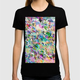Chaotic Flow of Colors T-shirt