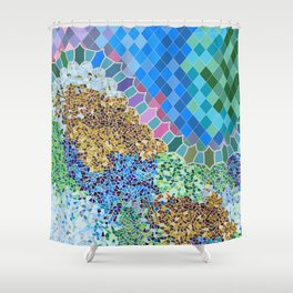 INSPIRED BY GAUDI Shower Curtain