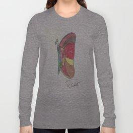 Mosaic Butterfly Long Sleeve T-shirt