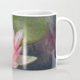 Mayla Water Lily Coffee Mug