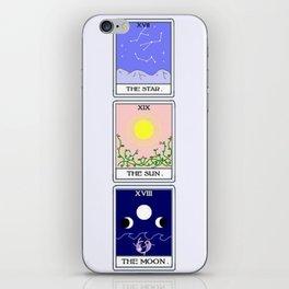 Trio of Tarot iPhone Skin
