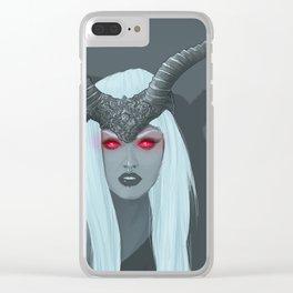 Obsidian Kerttu Clear iPhone Case