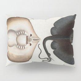 Vintage Stingray Illustration (1785) Pillow Sham