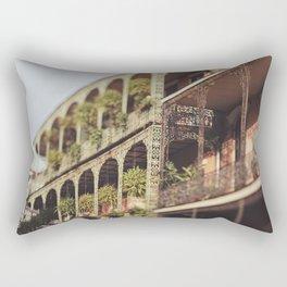 New Orleans Royal Street Balconies Rectangular Pillow