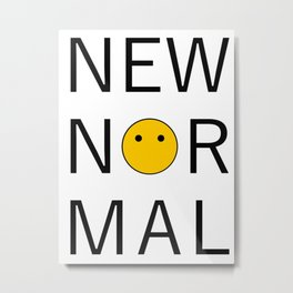 Voiceless: New Normal Metal Print