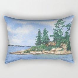 William #4 Rectangular Pillow