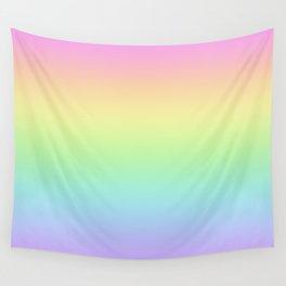 Pastel Rainbow Gradient - Pretty! Wall Tapestry