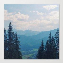Mountain Air Part II Canvas Print
