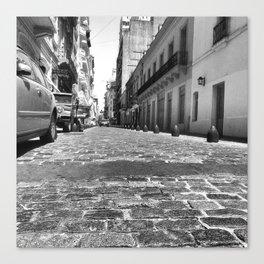 San Telmo (Cobblestone View) Canvas Print