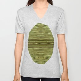 Abstraction Serenity in Pinewood Unisex V-Neck