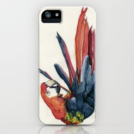 Parrot Grooming iPhone Case