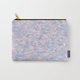 Light pink and blue popcorn 4647 Carry-All Pouch