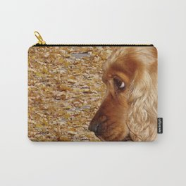 Dog Cocker Spaniel Carry-All Pouch