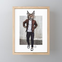 The Dave I Know, Cool Cat Framed Mini Art Print
