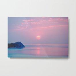 Calm sunrise Metal Print