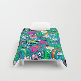 Monster Party Comforters