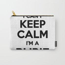 I cant keep calm I am a RUBIE Carry-All Pouch