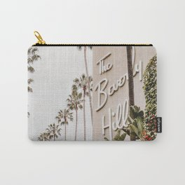 The Beverly Hills Hotel / Los Angeles, California Carry-All Pouch