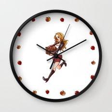 apple thief Wall Clock
