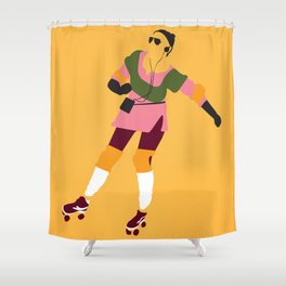 Innamorato Pazzo Shower Curtain