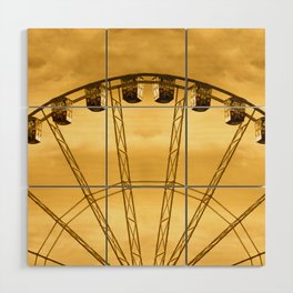 Carnival Cryptography Wood Wall Art