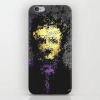 edgar allan poe iPhone & iPod Skins featuring Edgar Allan Poe by brett66