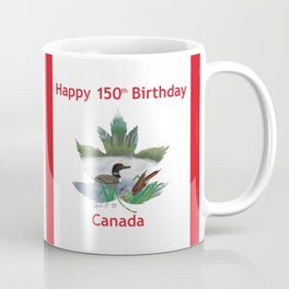Happy 150th Birthday Canada Coffee Mug