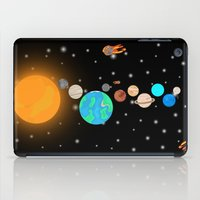 solar system iPad Cases featuring Solar System  by Gary Wood