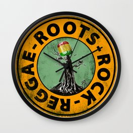 Roots - Rock - Reggae. Wall Clock